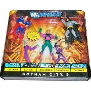 Action Figure 5 Pack Gotham City 5 (Superman, Batman, Lex
