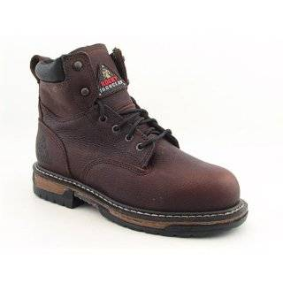 ROCKY Ride Boots Steel Toe Work Shoes Brown Mens SZ Shoes