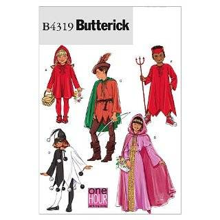 Simplicity Sewing Pattern 5927 Child Costumes, A (S M L