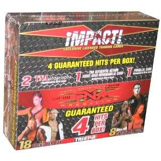 Tristar TNA Wrestling 2010 Icons Trading Cards Booster Box