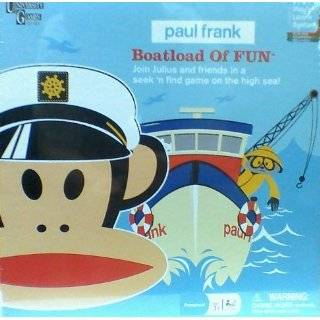 Paul Frank 4 in 1 Wooden Jigsaw Puzzles Toys & Games