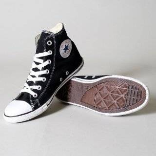 Converse Chuck Taylor All Star Hi Top Black Slim Profile Leather Shoes