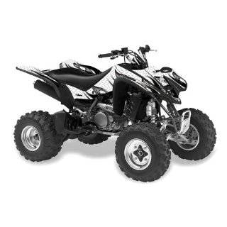 2008   2010 Kawasaki KFX 450 Custom Flame ATV Decal Graphics Kit with