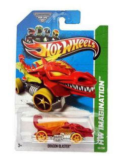 Hot Wheels Dragon Blaster Diecast Car