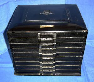 Vintage Art Deco Plastic Dental Cabinet 9 Drawer The Dentist Supply Co Used
