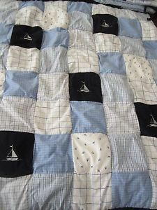 Nautica Kids William Boat Baby Boy Crib Bedding Set Quilt Bumper Dust Ruffle