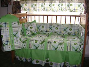John Deere Green Kids Nursery Baby Bedding Set Crib Sheet