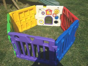 Today's Kids Baby Gate Playpen Play Yard Activity Center Safety VGUC