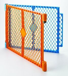 North States COLORPLAY Superyard Baby Pet Gate Extension Kit 2 Panel 8762