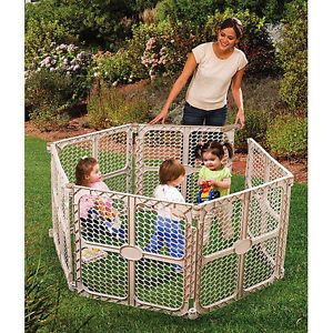 Summer Infant Secure Surround Baby Pet Play Yard Fence Gate Play Pen Child Pet