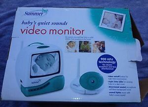"Summer Infant Baby Video Monitor Set with 5"" Screen not Working Properly"