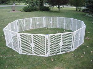 "North States Portable Superyard Baby Pet Gate Play Yard 12 32"" Panels 8666"
