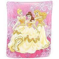 Disney Enchanted Princess Microfiber Throw   plush   blanket