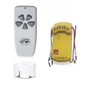 Universal Wireless Hampton Bay Ceiling Fan Light Remote Control Receiver Kit