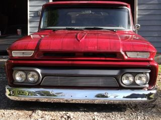 1965 Chevy Street Rod Hot Rod Custom Classic Truck Airbrush Wood Grain Paint
