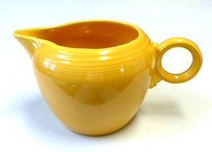Vintage Fiesta Ware Yellow 2 Pint Pitcher