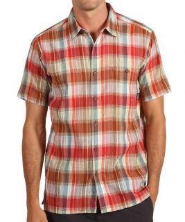 Patagonia Men's A C Organic Cotton Shirt Salida Red Clover s s M