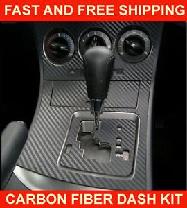 Chevrolet Corvette 86 89 Carbon Fiber Dashboard Dash Trim Kit Parts Free