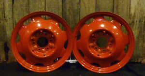 "18"" Divco Milk Truck High CLEARANCE Artillery Wheels Ford Hot Rod Flathead Scta"