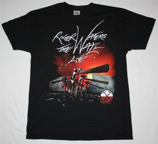 Roger Waters The Wall Live 2013 Tour Europe Pink Floyd s XXL New Black T Shirt