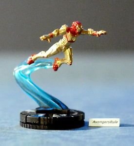 Marvel Heroclix Iron Man 3 Movie Gravity Feed 002 Iron Man MK 42