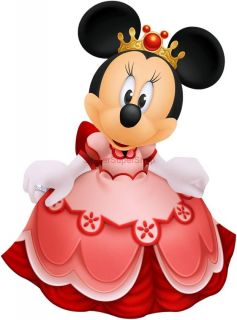Princess Minnie Mouse Decal Removable Wall Sticker Home Decor Art Disney Queen