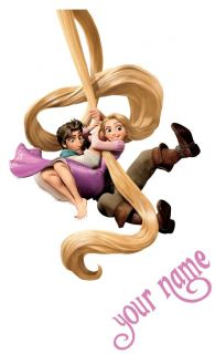 Personalized Tangled Rapunzel Flynn Decal Removable Movie Wall Sticker Decor Art