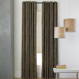 Studio Layers Grommet Top Lined Panel Curtain Drape