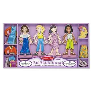 Brookstone Best Friend Forever Magnetic Dress Up