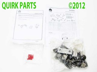 2011 2013 Jeep Grand Cherokee Front Tow Hook Kit Set Mopar Genuine OE Brand New