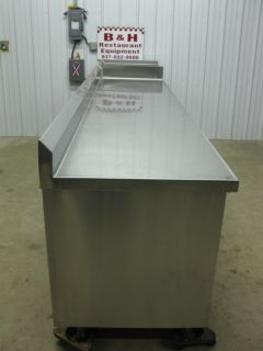 "150"" Stainless Steel Cabinet Work Prep Table w 18"" Sink 4 Drawers 2 Doors"