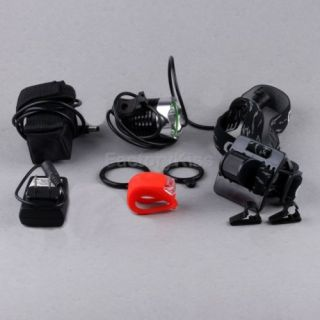 1800 Lumen 2 in 1 CREE XM L T6 LED Bike Bicycle Light Lamp Headlamp Headlight