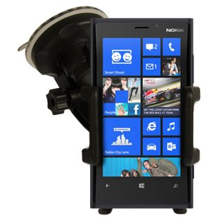 Leather Flip Series Case Cover Bluetooth Headset Car Holder for Nokia Lumia 920