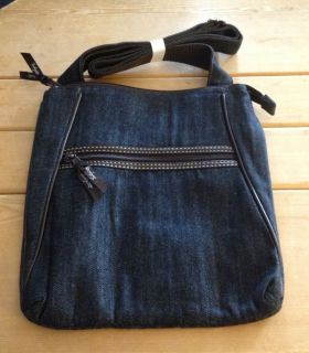 Thirty One Organizing Shoulder Bag Dark Denim Retired Color New in Package