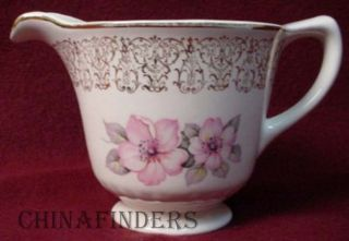 Homer Laughlin China L621 Apple Blossom Pattern Creamer Cream Pitcher or Jug