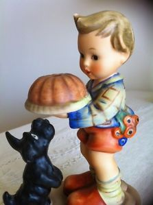 Bundt Cake Mint Goebel Hummel Figurine TMK 5 Scottish Terrier Dog Scottie