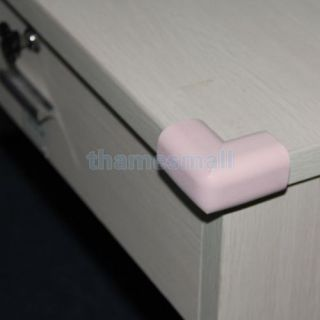 Transparent Table Desk Shelf Corner Edge Protector Safety Guard for Baby Kids