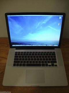 "Custom Apple MacBook Pro 15"" Laptop Notebook 2 66GHz 8GB 1000GB 1TB 7200RPM"