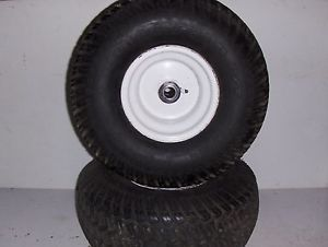 Craftsman Lawn Garden Tractor B s 15 5 Turbo Cool Front Tires and Wheels