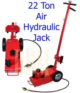 22 Ton Air Hydraulic Jack Car Van Bus Truck Trailer Floor Lift Jack with 4 Dies