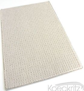 "Ivory Artful Indoor Area Rug Carpet 1 2""Thick Living Room Dining Room Many Sizes"