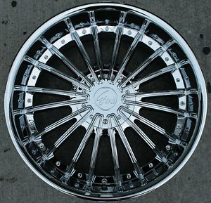 "RVM 487 22"" Chrome Rims Wheels Tahoe Avalanche Escalade"