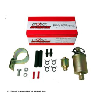 New Global Automotive Universal Electric Fuel Pump Installation Kit E8012S