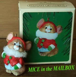 Santa Mouse 1984 Hallmark Xmas Ornament Claus Mice