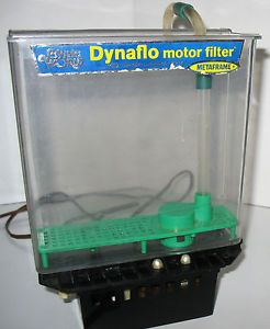 Metaframe Vintage Dynaflo Motor Filter Magic Magnet Dive Model 410 Aquarium