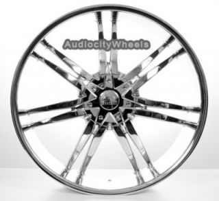 26 inch Wheels Rims Chevy Ford Cadillac QX56 Escalade