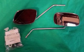 Harley Davidson Long Motorcycle Mirrors