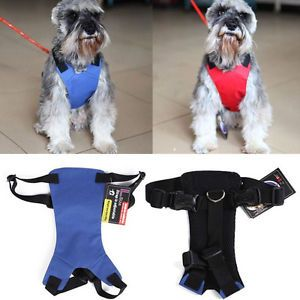 New 4 Colors 3 Size Comfort Pet Dog Harness Car Safety Seat Belt Harness