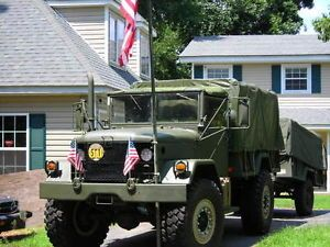 M35A2 4x4 Army Truck Bobber Turbo Diesel Deuce and A Half