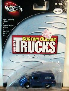 Lot 258 100 Hot Wheels Limited Real Riders Classic Trucks Series '56 Ford